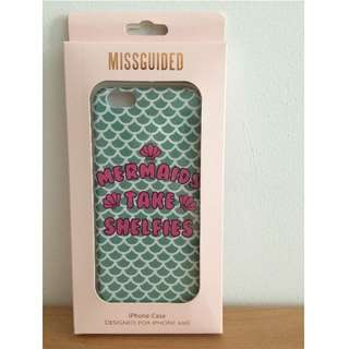 Missguided mermaid iphone case for 6/6s