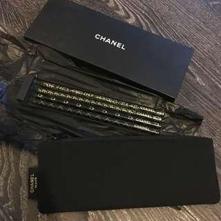 包郵 少有chanel 筆袋+鉛筆