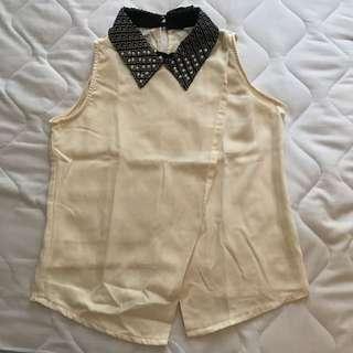 SALE - Blouse Lindy Cream + Skirt