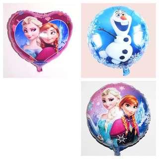 Frozen Foil Balloon - 3 Designs