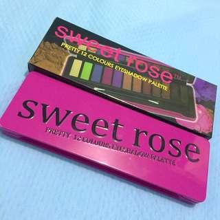 SWEET ROSE Eyeshadow Palette
