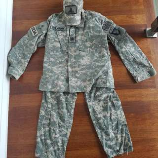 [CLEARANCE] Authentic USA Universal Camouflage Pattern (UCP) Army Combat Uniform (ACU)