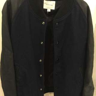 Country Road Wool Blend Bomber Jacket Size XL