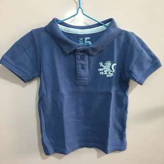 Cotton On Kids Polo Shirt Blue