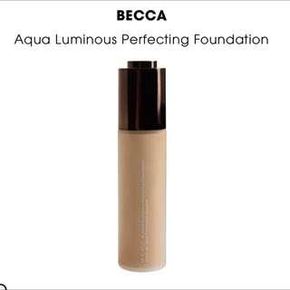 Becca Aqua Luminous Perfecting Foundation