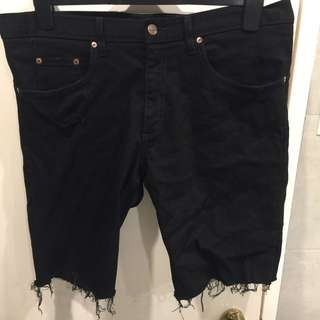 Nobody Denim Black Shorts Size 36