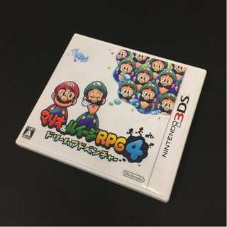 3DS 原裝日版 Mario & Luigi Dream Team