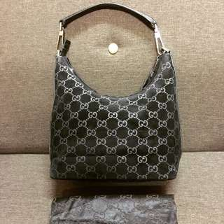 Authentic Gucci Suede Handbag