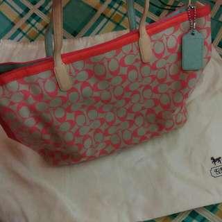 Coach Signature Tote Bag