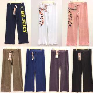 全新舒適褲Juicy Couture pants