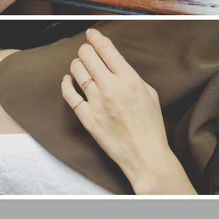 hannah jewelry 細戒 裝飾 金屬 尾戒 戒指