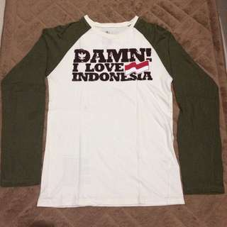 T-shirt Damn I Love Indonesia
