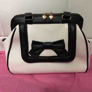 Alannah Hill Patent Leather Bag