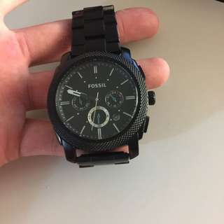 Fossil Watch Mens Black