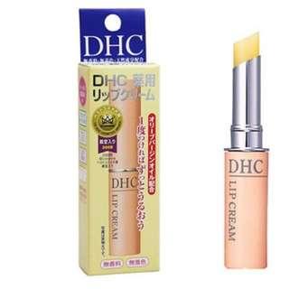日本 DHC 純欖護唇膏 1.5g  超級好用  日本購入