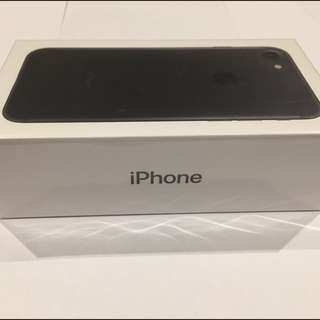 iPhone 7 256GB Matte Black ( BRAND NEW AND SEALED )