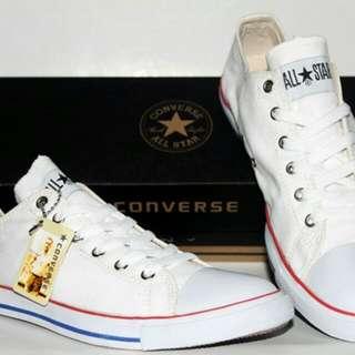 Sepatu Converse Putih ( Low )