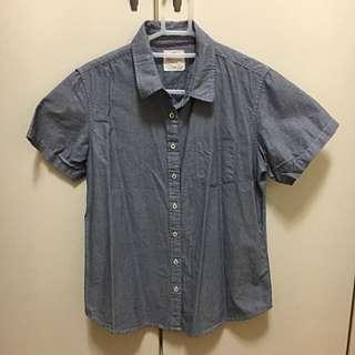 Lativ 灰色襯衫-L號