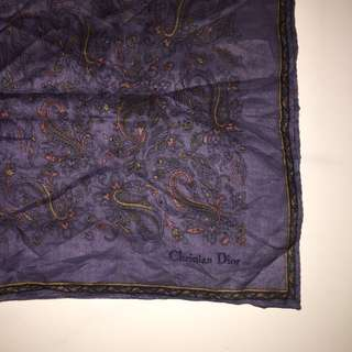 Pocket Square Christian Dior Original