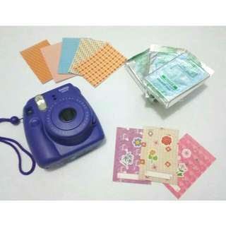 Fujifilm Instax Camera Mini 8 Grape