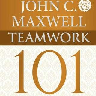 Teamwork 101 John C.Maxwell