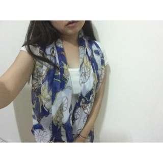 摩登圖騰樣式 絲巾