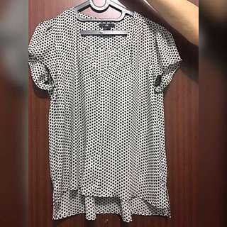 HnM Dotted Top