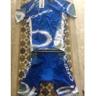 Orbea Cycling Jersey+Bib-Shorts (Set)