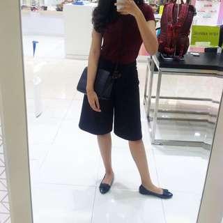 Marks & Spencer Black Culottes