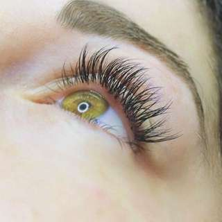 Eyelash Extensions (full set) 70$