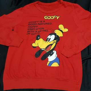 Sweater merah GOOFY