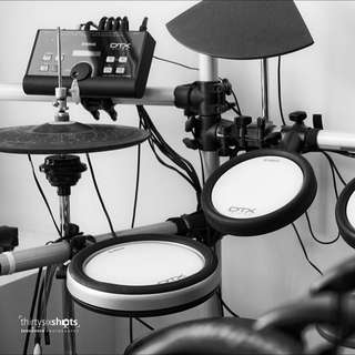 Upgraded DTX E-Drums