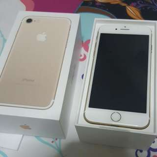 WTS Brand New iPhone 7 Gold 128gb