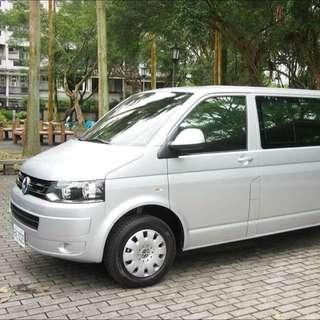 九人座- 福斯 休旅車 T5 柴油款