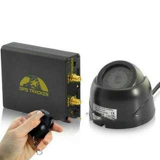 GPS Tracker Mobil Motor dengan Remote Control & CCTV