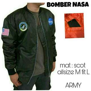 Bomber Nasa Cowok