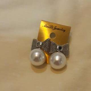 Anting Pita Silver  (New)