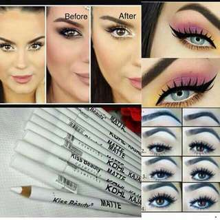 KOHL KAJAL EYELINER WHITE COLOUR