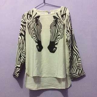 Blouse Zebra