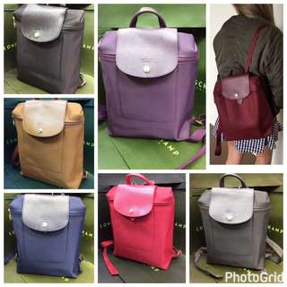 Longchamp Authentic Backpack