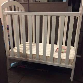 Baby Bed White Color