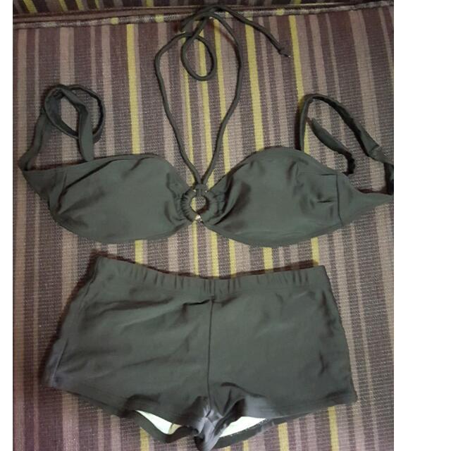 2 Piece Bandeau Set / Swimsuit / Swimwear