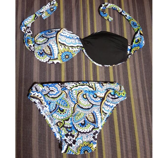 2 Piece Swimsuit / Bandeau / Swimwear