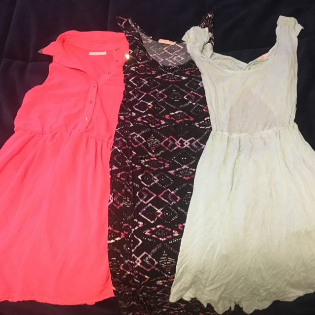 3 Summer Dresses - All Size Small