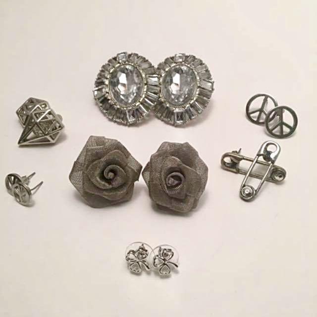 7 Pairs Stud Earrings