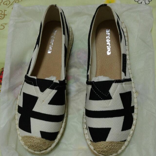 草編鞋,懶人鞋