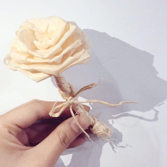 日本檜木手折玫瑰花🌹