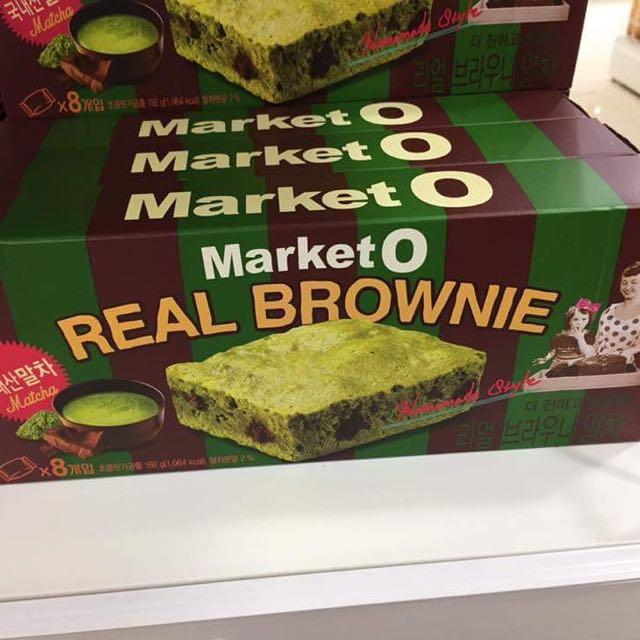 韓國代購 布朗尼蛋糕