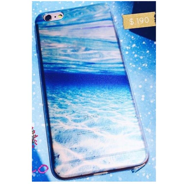 iPhone6/6S 手機殼 蔚藍漸層