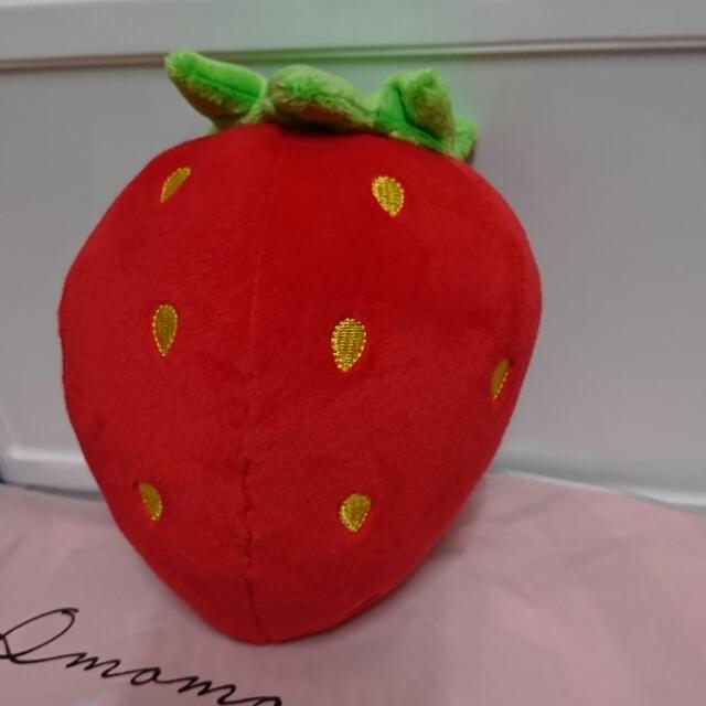 現貨 大草莓 吸盤吊飾 全新現貨
